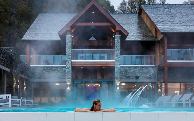 A new spa has opened at The Lodore Falls Hotel in the Lake District, featuring one of the country's largest infinity pools