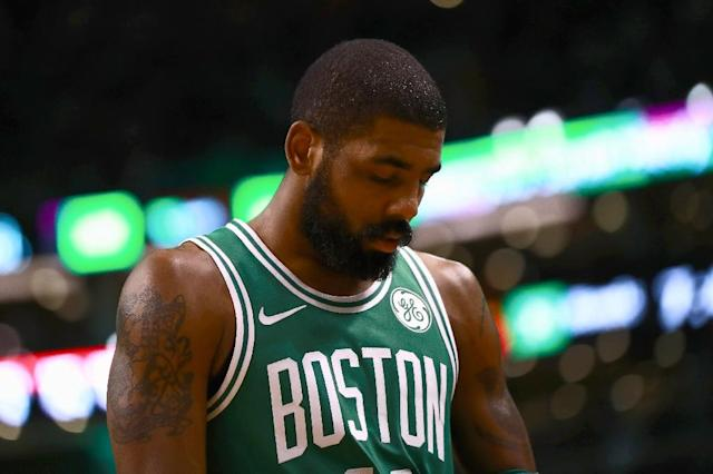 Orlando spoiled the return from injury of Boston point guard Kyrie Irving, whose 40 points couldn't prevent the Celtics from dropping a third straight game (AFP Photo/Omar Rawlings)