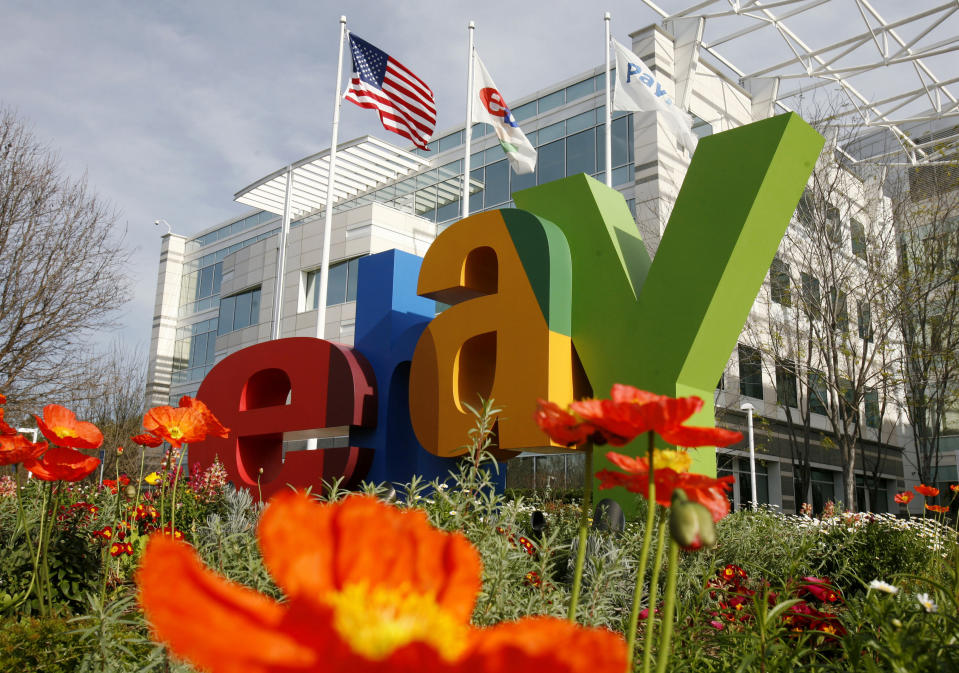 A general view of eBay headquarters in San Jose, California February 25, 2010.  REUTERS/Robert Galbraith  (UNITED STATES - Tags: BUSINESS SCI TECH)