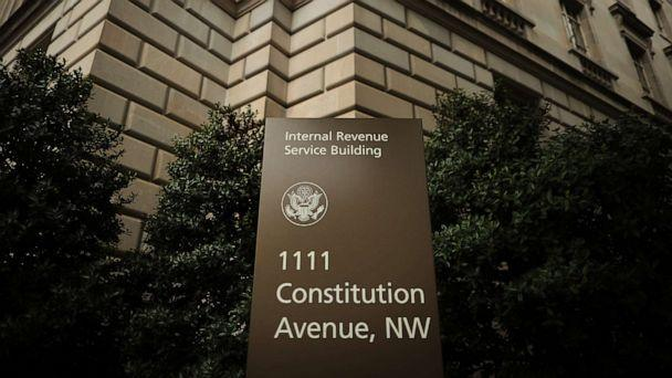 PHOTO: IRS headquarters building in Washington, D.C., April 27, 2020. (Chip Somodevilla/Getty Images, FILE)