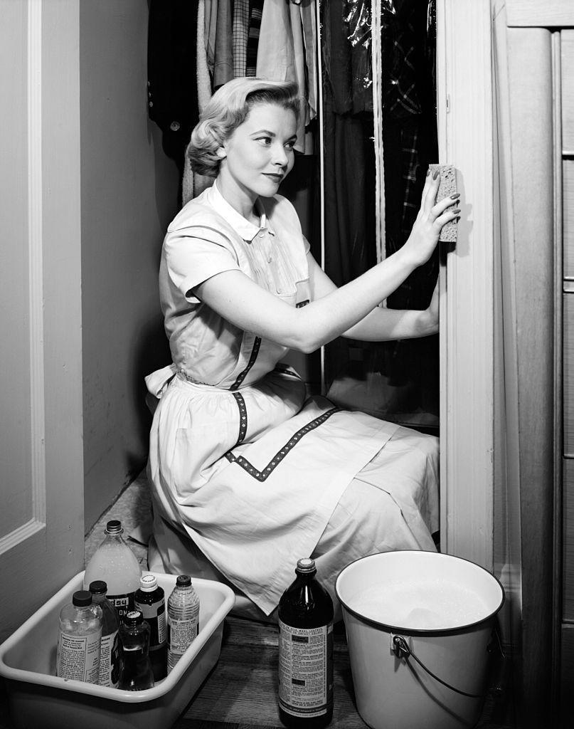 """<p>We can <em>really</em> get behind this superstition. If you're concerned about """"sweeping"""" or """"washing"""" away any luck coming your way, don't do any cleaning—including dishes and laundry. </p>"""