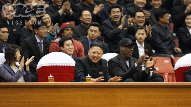 Rodman Worms His Way Into Kim Jong Un Meeting (ABC News)