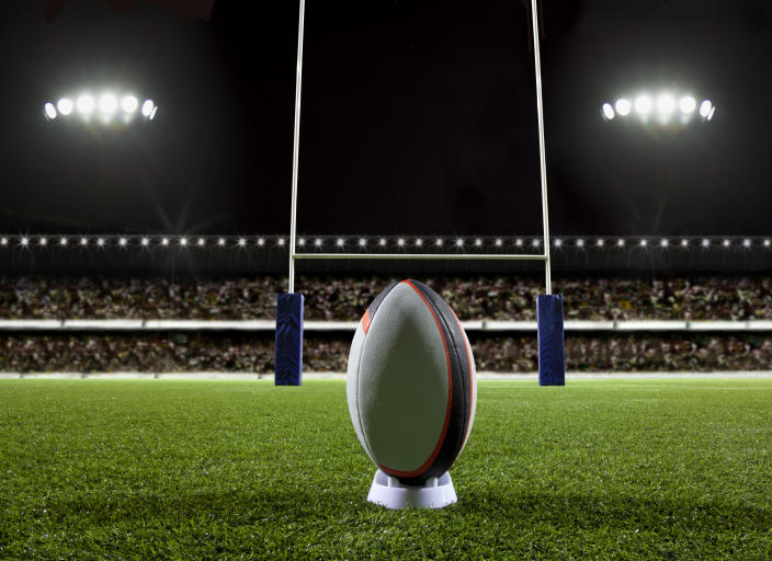 Rugby may cause lasting brain damage in professional players. (Stock, Getty Images)