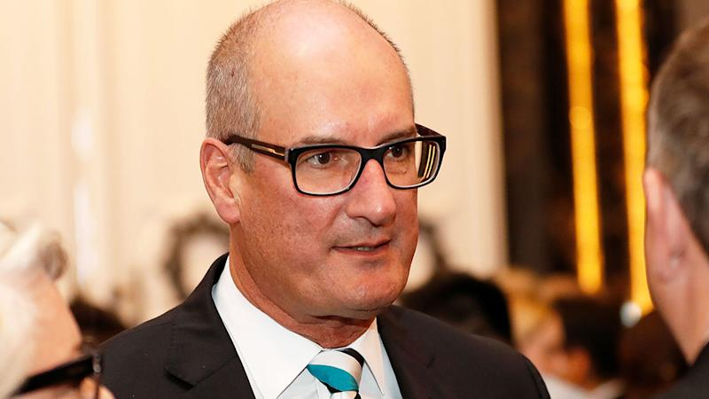 Pictured here, Port Adelaide Power chairman David Koch.