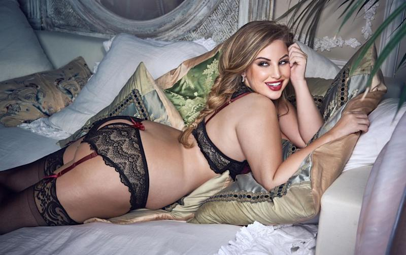 She hopes to spread her message of body positivity. (Photo courtesy of Lovehoney Lingerie)