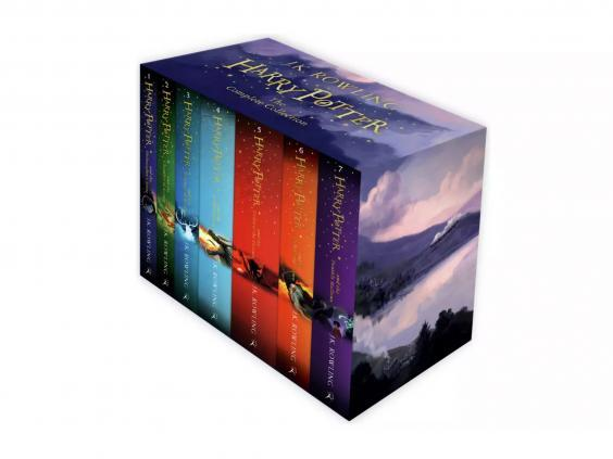 Re-read the full Harry Potter series with this paperback set (Argos)