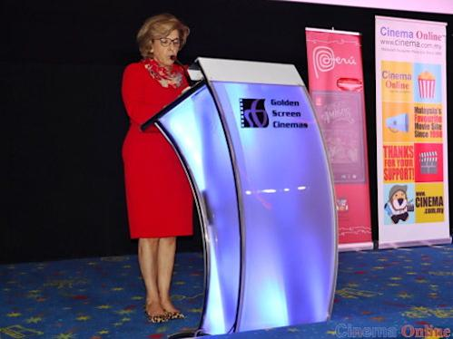 Her Excellency Elsa Nury Bauzan Benzano also gave the opening speech at the launch of LAFF 2019.