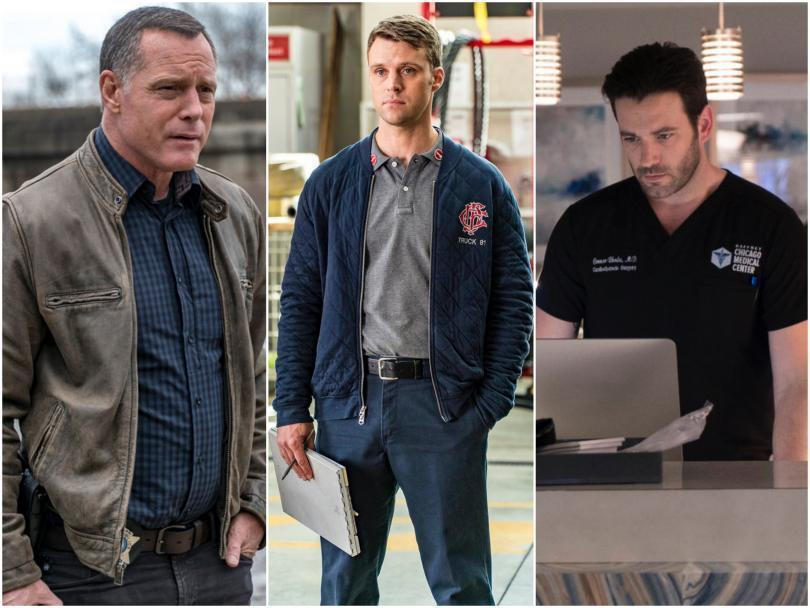 Chicago PD, Chicago Fire and Chicago Med
