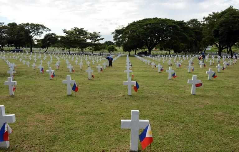 The Heroes' Cemetery in Manila is reserved for the Philippines' most revered war heroes