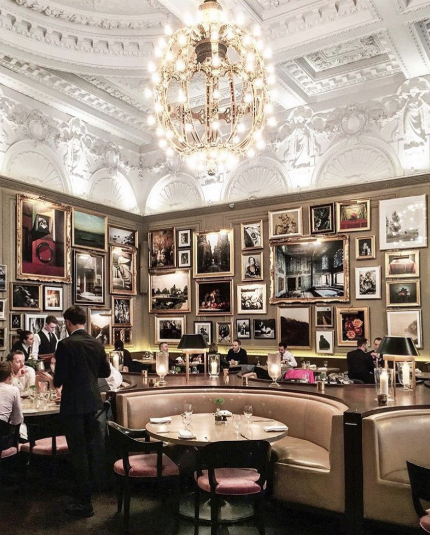 <p>If you're not blown away by Berners Tarven's breathtaking setting, then allow the extensive food menu to dazzle you. <em>[Photo: Berners Tavern]</em> </p>