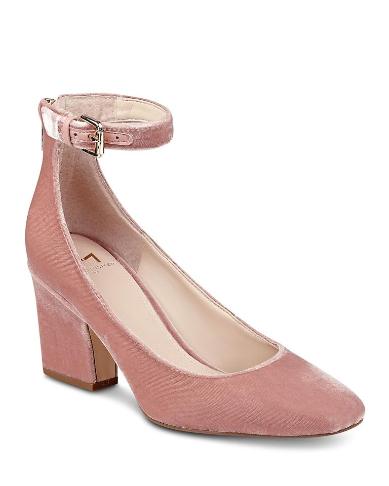 "<p>""Honestly, being the pink lover I am, I'm surprised I didn't already have a version of these heels. I'm obsessed withe the millennial pink velvet, and the block heel and ankle strap make them super comfy. They'll definitely be my go-to shoe this holiday season!""—Jane Asher, Assistant Social Media Editor</p><p>Buy it <a rel=""nofollow"" href=""https://click.linksynergy.com/fs-bin/click?id=93xLBvPhAeE&subid=0&offerid=465536.1&type=10&tmpid=2425&RD_PARM1=https%3A%2F%2Fwww.bloomingdales.com%2Fshop%2Fproduct%2Fmarc-fisher-ltd.-anisy-velvet-ankle-strap-pumps%3FID=2820830&u1=IS%2CFAS%2CGAL%2CWhatInStyleEditorsBoughtinNovember%2Cbennetta%2C201712%2CT"">here</a> for $101 (Originally $170).</p>"