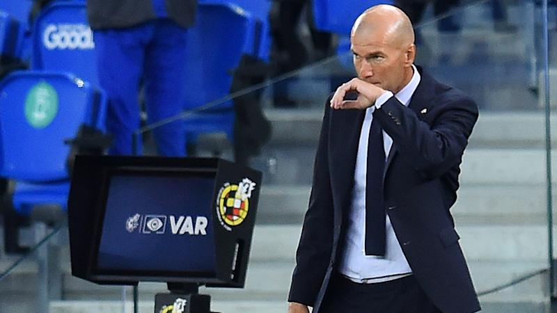 Zidane 'tired' of VAR controversy and calls for Real Madrid to be shown respect