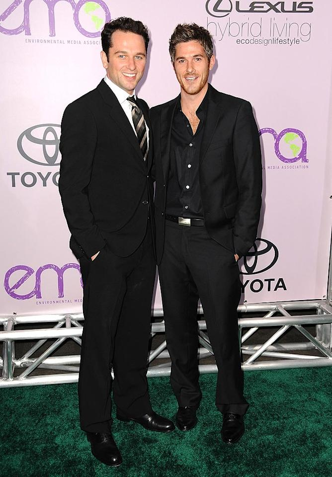 "Matthew Rhys and Dave Annable (""Brothers and Sisters"") are equally delicious! Jordan Strauss/<a href=""http://www.wireimage.com"" target=""new"">WireImage.com</a> - November 13, 2008"