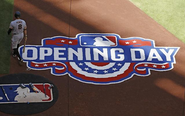 Opening Day is upon us. (AP)