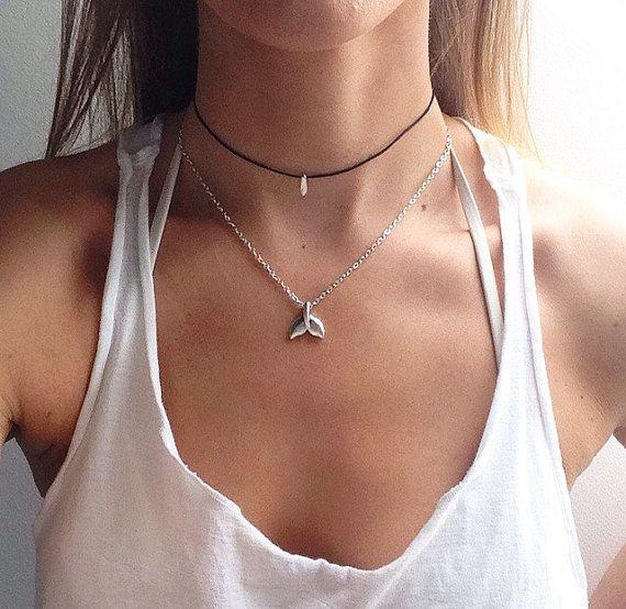 """The Mermaid Necklace, $3.68 ,<a href=""""https://www.etsy.com/listing/295322519/the-mermaid-necklace-mermaid-tail-silver?ga_order=most_relevant&ga_search_type=all&ga_view_type=gallery&ga_search_query=mermaid&ref=sr_gallery_4"""" target=""""_blank"""">Etsy</a>"""
