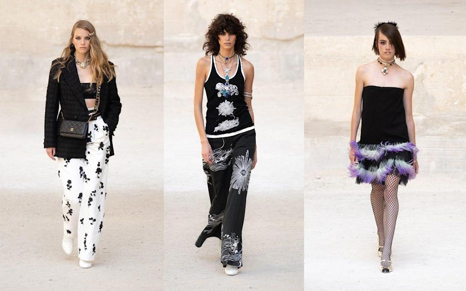 Chanel's cruise 2021 / 2022 collection
