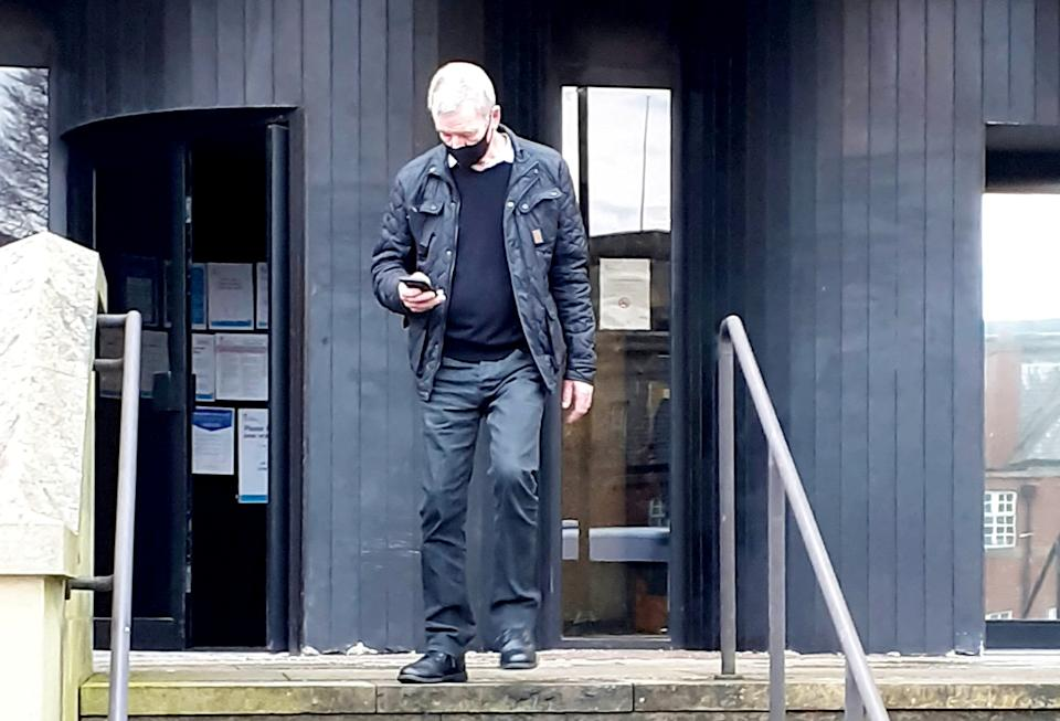 Gary Poole.  A cheating oven repairman who lied to his wife about being unemployed for seven years stole nearly £60,000 in benefits, a court has heard.   See SWNS story SWLEfraud.  Cunning Gary Poole, 60, carried out a campaign of deception against the state and his own wife as he secretly worked on fixing ovens each day. Bolton Crown Court heard how his wife got tens of thousands in benefits which she was not entitled to because she believed he was unemployed.  Between November 2012 to February 2019 his wife claimed roughly £52,000 in employment support allowance (ESA) as well as £5,000 in housing benefits from March 2015 to February 2019.  Poole, of Bolton, Lancs., pleaded guilty to two offences of benefit fraud on Wednesday (Nov 25) and handed a 12-month suspended sentence.