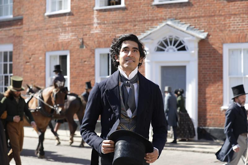 Dev Patel stars as Charles Dickens' well-known literary character in
