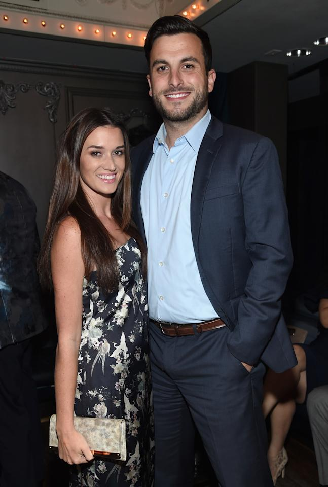 """After meeting on the show in season two, Jade and Tanner became the first <em>Bachelor in Paradise</em> couple to get married with their own televised special, <em>The Bachelor 20: A Celebration of Love</em>. Since tying the knot, the couple has welcomed two children, two-year-old daughter Emerson and newborn son Brooks. Just days ago, Jade took to her Instagram page to reveal that she """"accidentally"""" gave birth to Brooks in her master closet. """"It was one of the scariest moments of my life because I felt so out of control, but Tanner, Tanner's mom, my mom and the medics and firefighters kept me going when I felt like the world was caving in on me and my unborn baby,"""" she <a href=""""https://www.instagram.com/p/B0j5li1FUhy/"""">wrote</a>."""