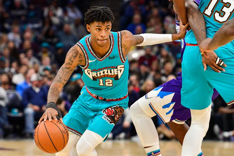"Ja Morant will miss Sunday's game against the Timberwolves and is listed as ""week-to-week"" with back spasms."
