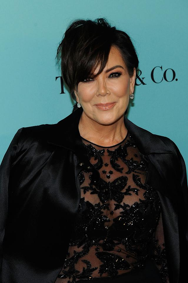 <p>Kris Jenner has had her classic pixie cut for a while, and as many would agree, it's quite fitting. (Photo: Getty Images) </p>