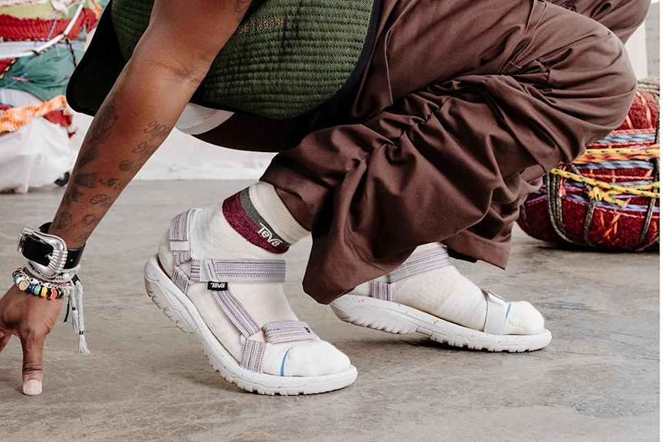 A look at the Teva x Stance collaborative sandal and sock set. - Credit: Courtesy of Teva