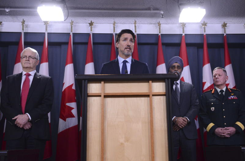 Prime Minister Justin Trudeau has demanded answers from Iran. Source: Getty