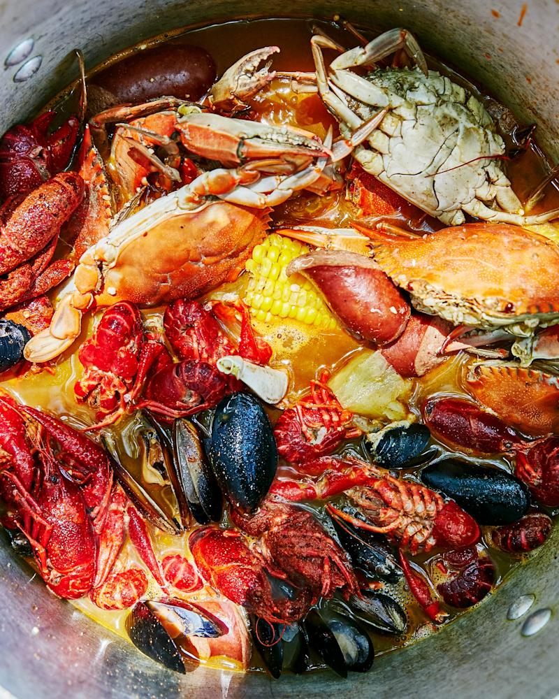 Brown's Frogmore stew