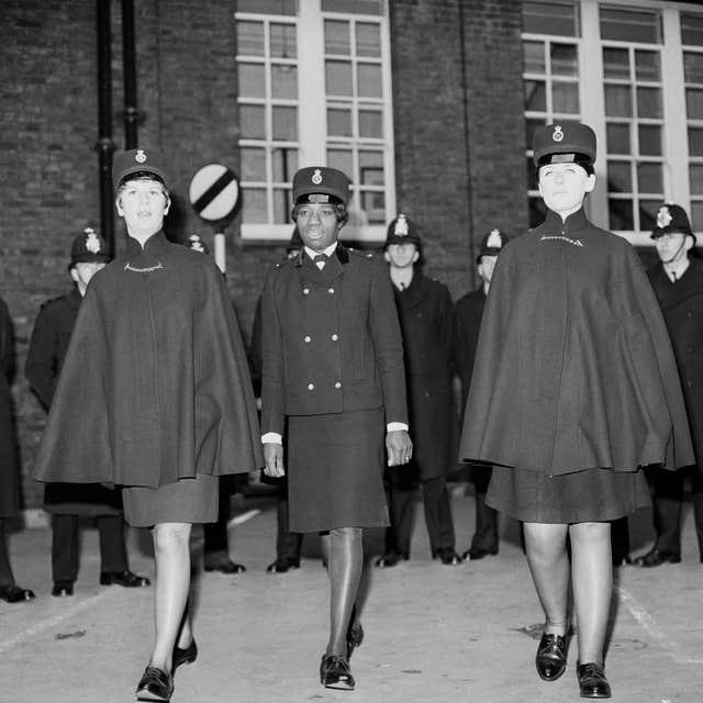 Britain's first coloured policewoman