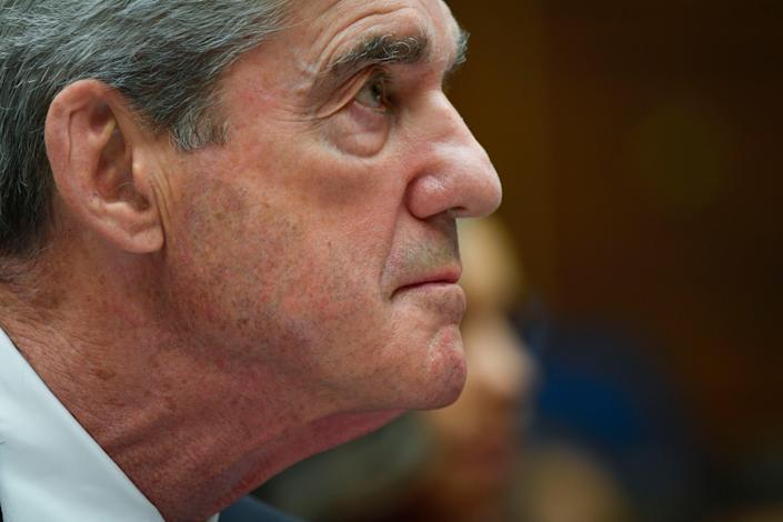 Former special counsel Robert Mueller testifies for the House Intelligence Committee hearing on the 'Investigation into Russian Interference in the 2016 Presidential Election.'