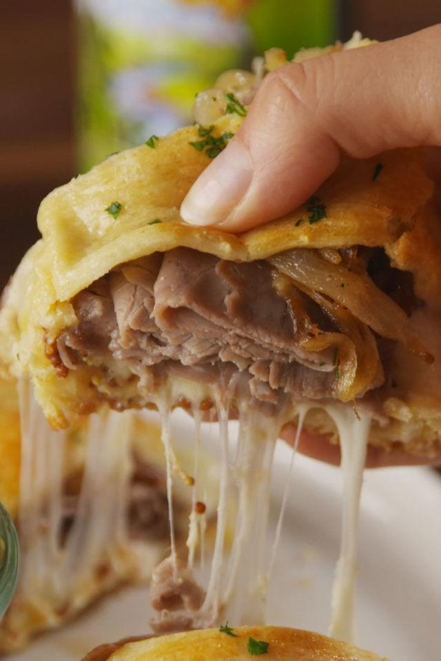 "<p>Almost <em>too</em> good.</p><p>Get the recipe from <a rel=""nofollow"" href=""http://www.delish.com/cooking/recipes/a55281/french-dip-crescent-ring-recipe/"">Delish</a>.</p>"