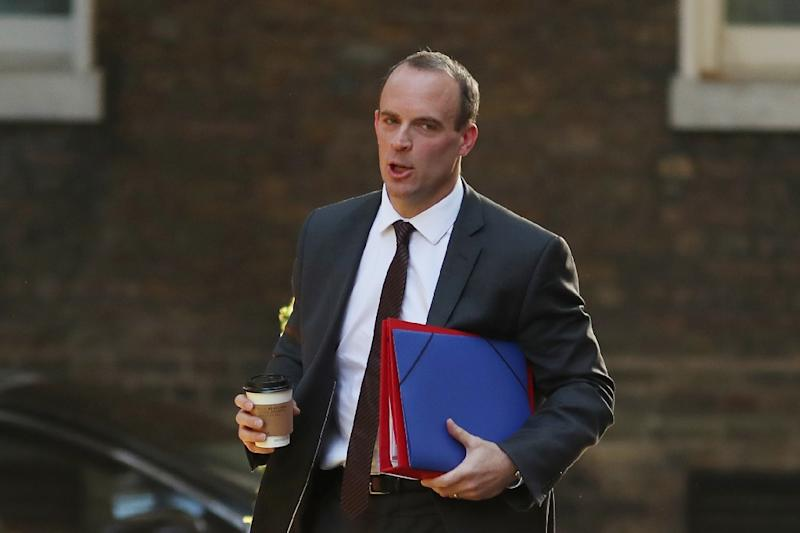 Brexit minister Dominic Raab issued a fresh warning that Britain would not pay the financial settlement promised to the EU after Brexit if there is no divorce deal