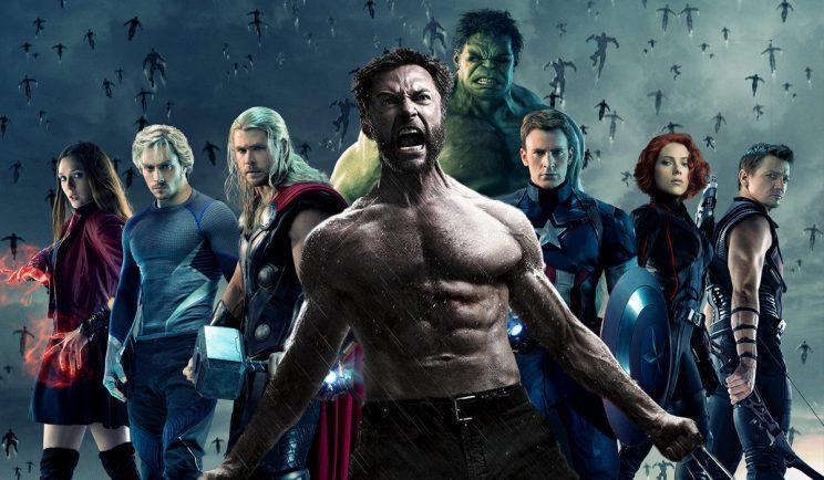 Hugh Jackman wanted to fight alongside The Avengers - Credit: Marvel/20th Century Fox