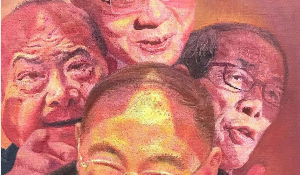 Zhang is known for painting Chinese celebrities. Photo: Handout