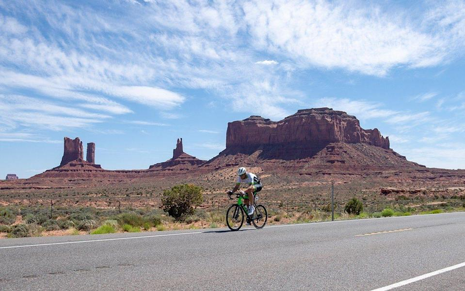 Golding's RAAM ambitions have been put back 12 months - JOOLZE DYMOND