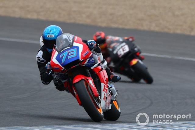 "Alex Marquez and Marc Marquez, Repsol Honda Team <span class=""copyright"">Gold and Goose / Motorsport Images</span>"