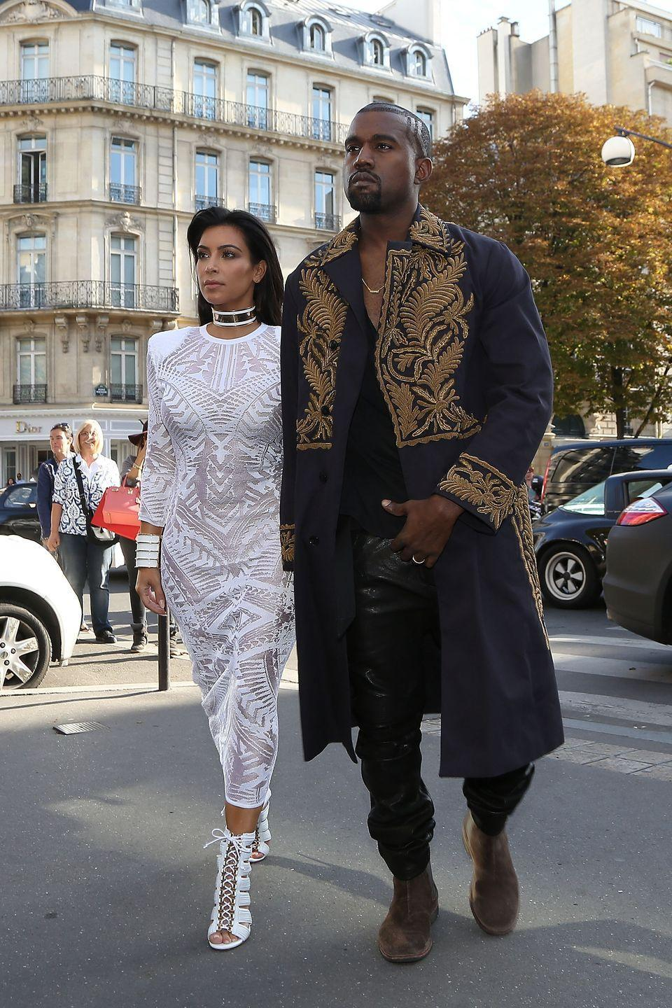 """<p>The world was almost robbed of witnessing Kim and Kayne's Italian wedding. Thankfully, Kim's assistant filmed the <a href=""""https://www.hollywoodreporter.com/features/kardashian-decade-how-a-sex-tape-led-a-billion-dollar-brand-1029592"""" rel=""""nofollow noopener"""" target=""""_blank"""" data-ylk=""""slk:whole thing on a handycam"""" class=""""link rapid-noclick-resp"""">whole thing on a handycam</a> and Kim ended up liking the footage so much that <a href=""""https://www.hollywoodreporter.com/features/kardashian-decade-how-a-sex-tape-led-a-billion-dollar-brand-1029592"""" rel=""""nofollow noopener"""" target=""""_blank"""" data-ylk=""""slk:they used it for the show"""" class=""""link rapid-noclick-resp"""">they used it for the show</a>.</p>"""