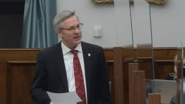 'When the premier announced this new model for health care, I think many I was very curious and somewhat intrigued,' says Liberal MLA Robert Henderson. (Legislative Assembly of P.E.I. - image credit)