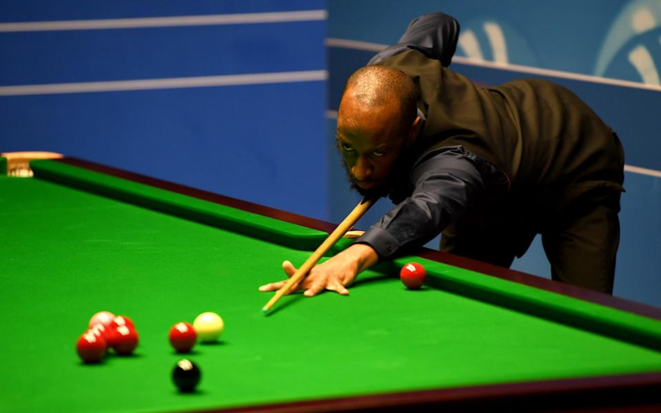 Rory McLeod is snooker's only black professional and at 46, the oldest player remaining in the World Championships