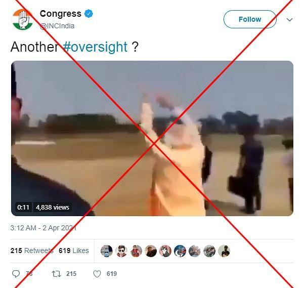"""An archived version of the post can be found <a href=""""https://web.archive.org/web/20210402102421/https://twitter.com/incindia/status/1377926978444029957"""" rel=""""nofollow noopener"""" target=""""_blank"""" data-ylk=""""slk:here"""" class=""""link rapid-noclick-resp"""">here</a>."""