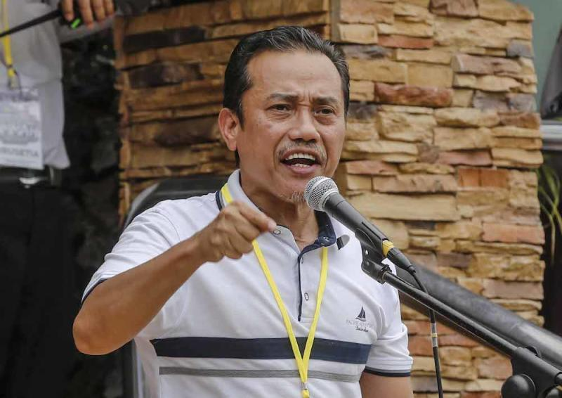 Ummah chairman Aminuddin Yahaya said that if the ICERD is ratified, it will lead to other 'elements' which will threaten the Malay race as well as Islam. — Picture by Firdaus Latif
