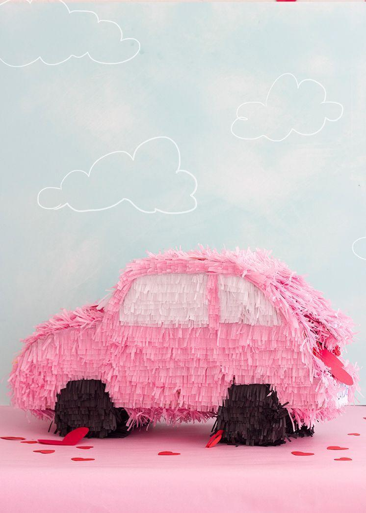 """<p>You'll have tons of fun with this one. First, DIY this pretty and pink piñata, fill it with <em>tons</em> of candy, and have everyone take turns trying to break it open! </p><p><strong>Get the tutorial at <a href=""""https://thehousethatlarsbuilt.com/2016/02/valentines-day-pinata-boxes.html/"""" rel=""""nofollow noopener"""" target=""""_blank"""" data-ylk=""""slk:The House That Lars Built"""" class=""""link rapid-noclick-resp"""">The House That Lars Built</a>.</strong></p><p><strong><a class=""""link rapid-noclick-resp"""" href=""""https://www.amazon.com/Pink-Mix-Sheets-Wrapping-Rainbow/dp/B074S3LWTY?tag=syn-yahoo-20&ascsubtag=%5Bartid%7C10050.g.25916974%5Bsrc%7Cyahoo-us"""" rel=""""nofollow noopener"""" target=""""_blank"""" data-ylk=""""slk:SHOP TISSUE PAPER"""">SHOP TISSUE PAPER</a><br></strong></p>"""