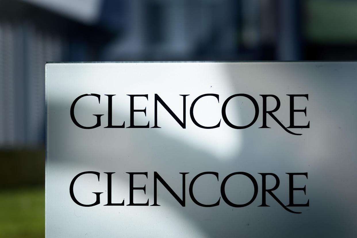A picture taken on November 13, 2020 shows the headquarters of Swiss commodity trading giant Glencore in Baar, central Switzerland, ahead of November 29, 2020 nationwide vote on a people's initiative to impose due diligence rules on Swiss-based firms active abroad. (Photo by Fabrice COFFRINI / AFP) (Photo by FABRICE COFFRINI/AFP via Getty Images)