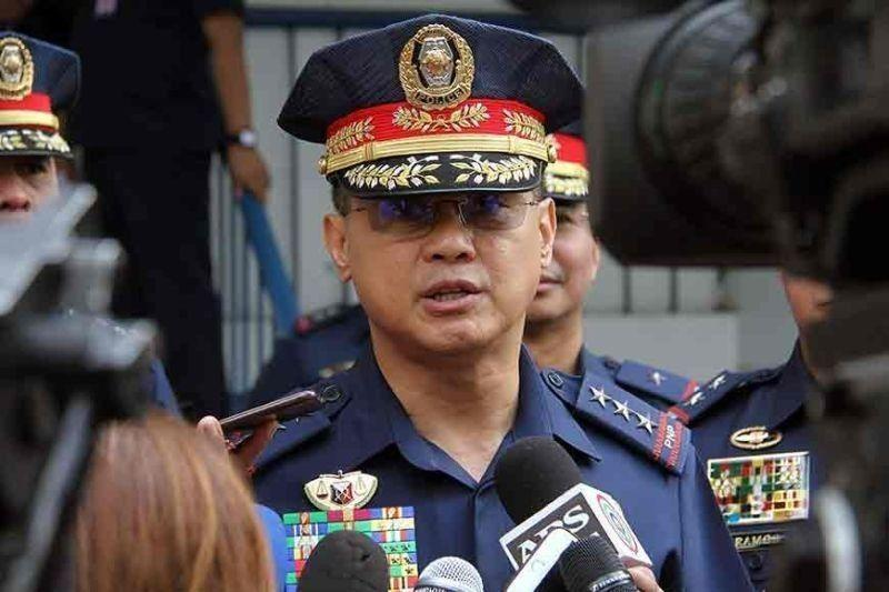 PNP chief feels 'insulted', keeps mum about narco cops