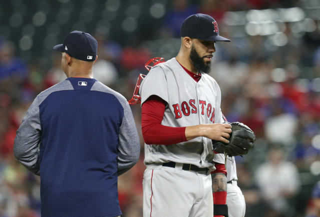David Price is going to game in private from now on. (AP Photo)