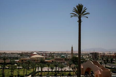 FILE PHOTO: A view of the Red Sea resort of Hurghada