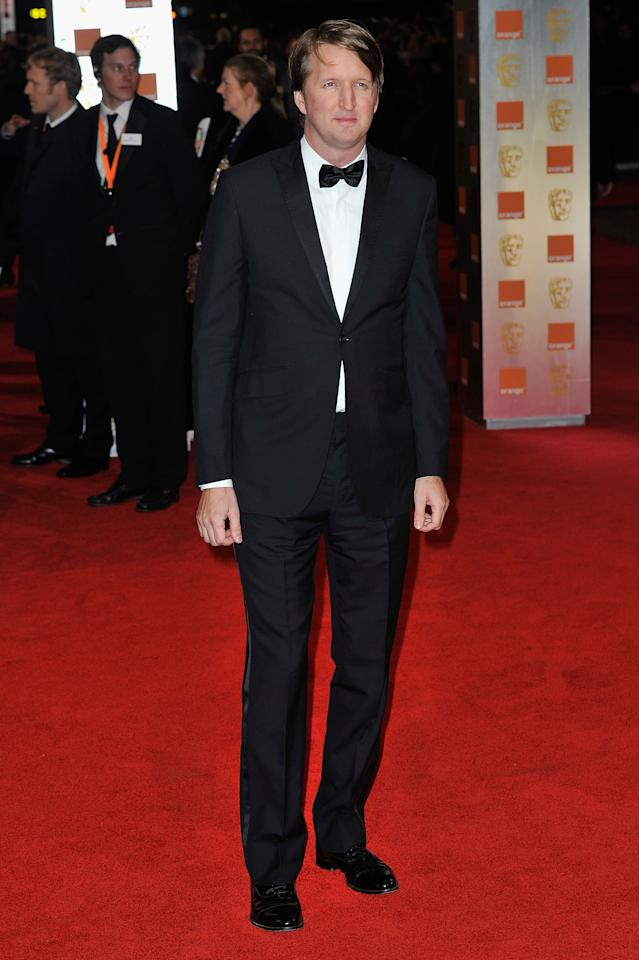 LONDON, ENGLAND - FEBRUARY 12:  Director Tom Hooper attends the Orange British Academy Film Awards 2012 at the Royal Opera House on February 12, 2012 in London, England.  (Photo by Gareth Cattermole/Getty Images)