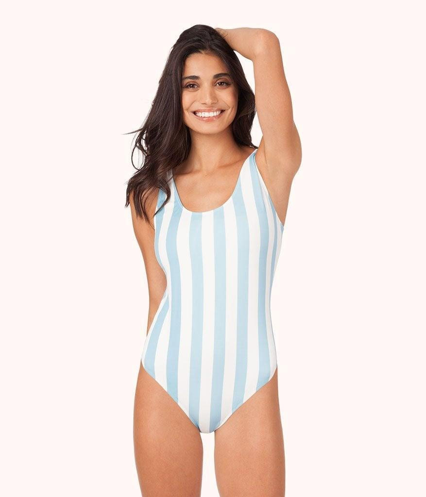 """<br><br><strong>Lively</strong> The Tank One Piece, $, available at <a href=""""https://go.skimresources.com/?id=30283X879131&url=https%3A%2F%2Fwww.wearlively.com%2Fcollections%2Fswim-one-pieces%2Fproducts%2Fthe-tank-one-piece-print-cabana-stripe%3Fvariant%3D1695289868300"""" rel=""""nofollow noopener"""" target=""""_blank"""" data-ylk=""""slk:Lively"""" class=""""link rapid-noclick-resp"""">Lively</a>"""