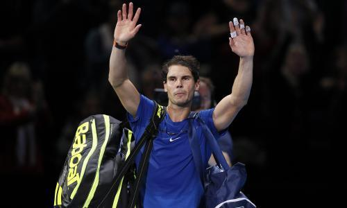 Rafael Nadal withdraws from ATP Finals after punishing defeat by David Goffin