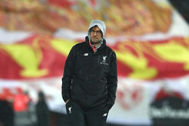 Klopp's Liverpool pushing to secure a top four finish in the Premier League